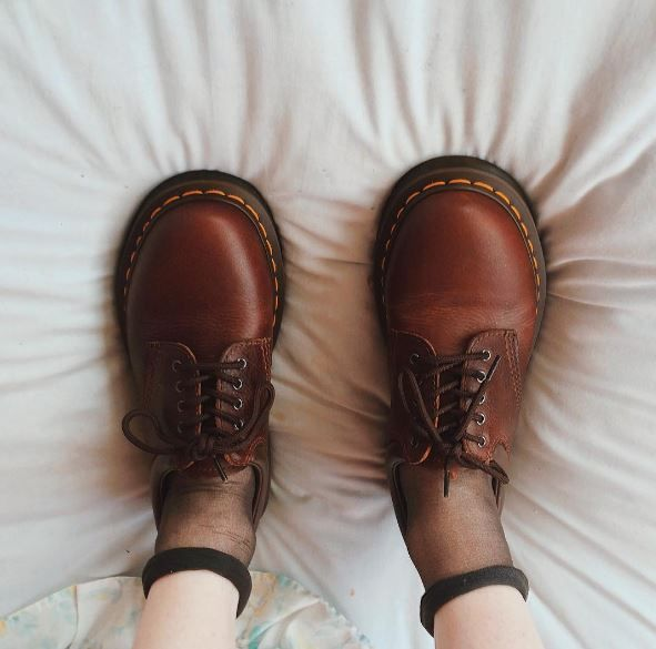 Doc's & Socks: The 8053 shoe in Harvest brown, shared by catsb4twats.