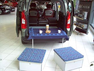 17 best images about camper car on pinterest minivan small campers and campers. Black Bedroom Furniture Sets. Home Design Ideas
