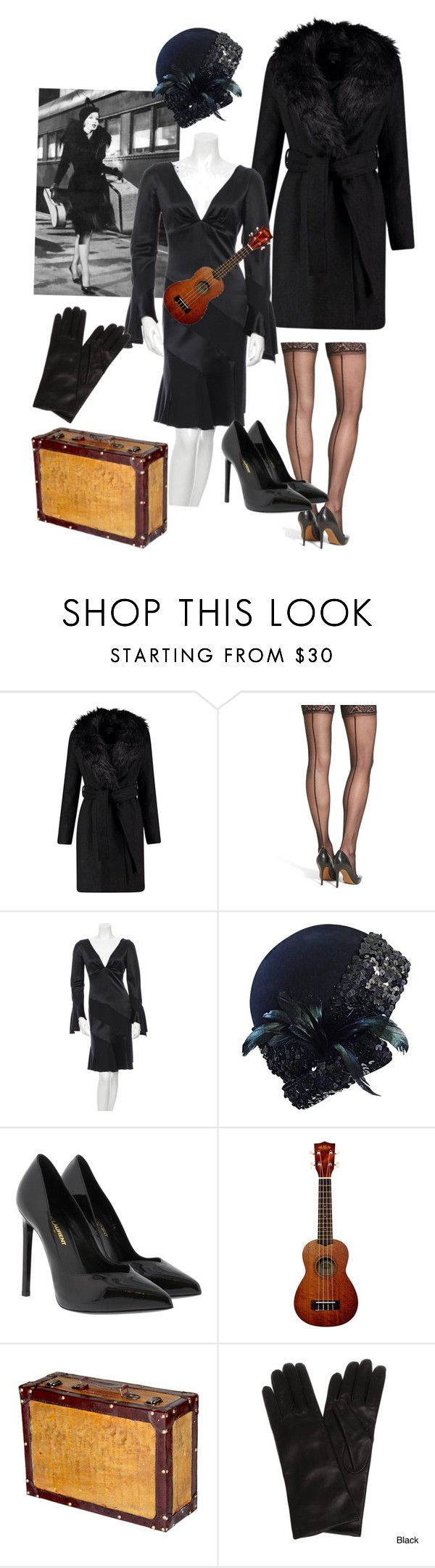"""""""Sugar Kane Kowalczyk- Like Jell-o on Springs"""" by kelly-haven-russell on Polyvore featuring Commando, Valentino, Adolfo, Yves Saint Laurent and Portolano"""
