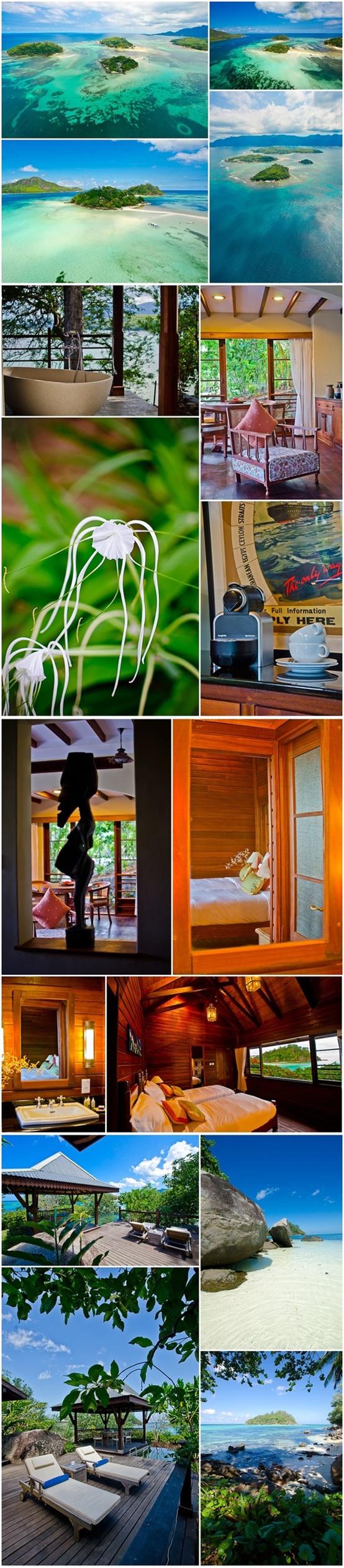 Отель «Enchanted Island Resort» ***** (остров Раунд, Сейшельские острова).  Подробности: +7 495 9332333, sale@inna.ru, www.inna.ru   Будьте с нами! Открывайте мир с нами! Путешествуйте с нами!