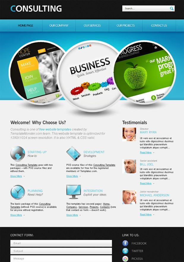 102 best Great web designs images on Pinterest | Design web, Web ...