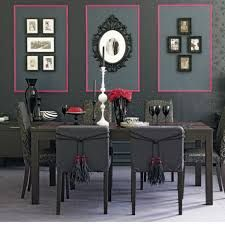 15 Modern Interior Decorating Ideas Blending Gray And Pink Colors Black Dining RoomsElegant