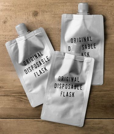 disposable flasks.... oh my