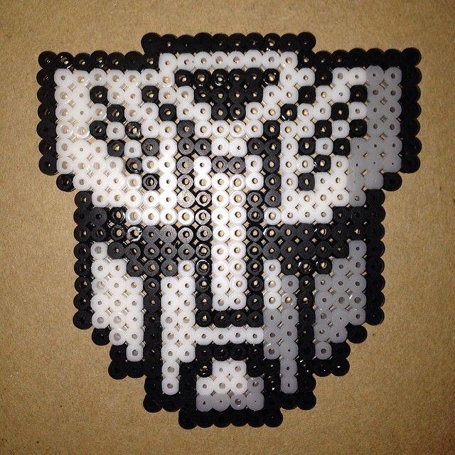 Transformers Autobot perler beads by shineyee427