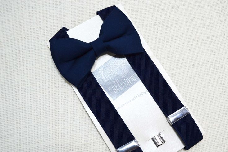 Navy Bow Tie and Navy Suspender Set !! for toddler/ boy/ baby/Teen/Adult/Men by ElenaAndChris on Etsy https://www.etsy.com/listing/251153232/navy-bow-tie-and-navy-suspender-set-for