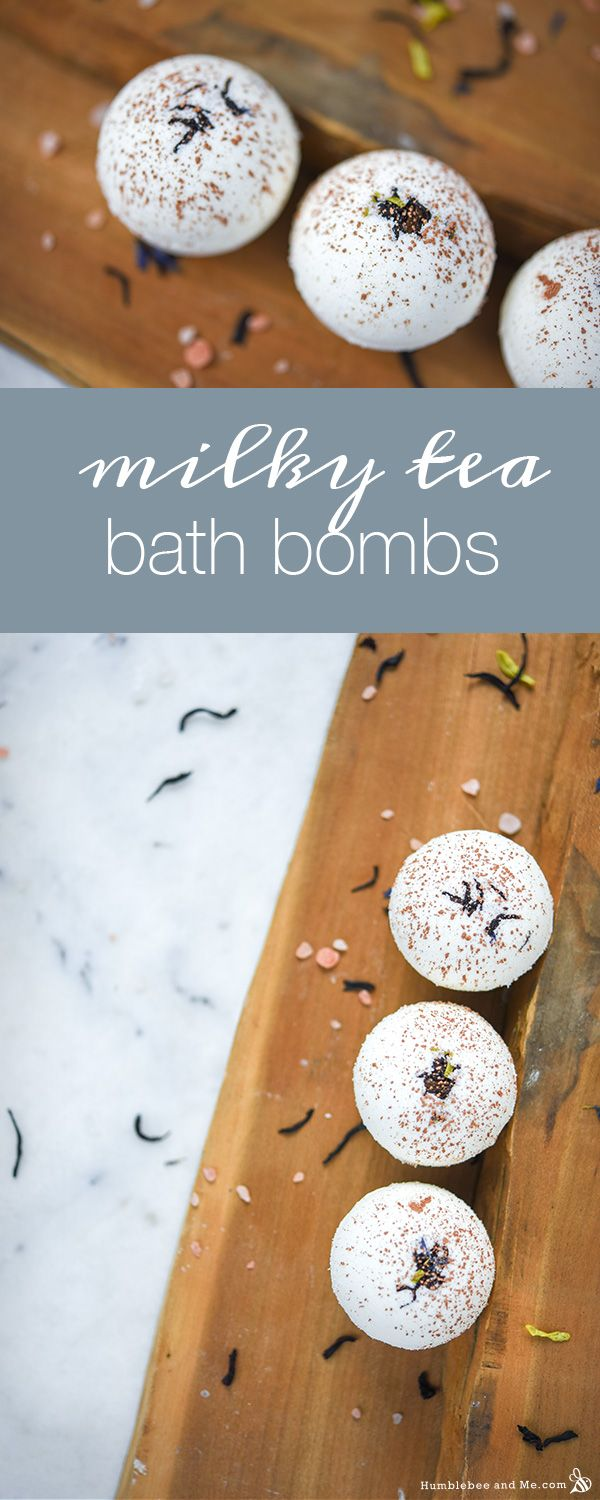 Milky Tea Bath Bombs Powdered phase 208g | 52% baking soda 104g | 26% citric acid 22g | 5.50% Epsom salts 18g | 4.50% whole milk powder 20g | 5% Cream of Tartar  Oil phase 8g | 2% Polysorbate 80 or Olivem 300 (USA / Canada) 16g | 4% mango butter 4g | 1% palmarosa essential oil  Witch hazel in a mister, as needed 70% isopropyl alcohol in a mister, as needed