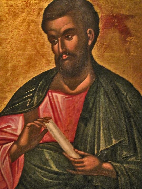 Icon with the Apostle Bartholomew, attributed to the painter M. Damaskenos, Byzantine and Christian Museum, Athens