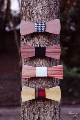Le Webzine d'Oncle Pape : Mode, Bois, Accessoires mode, Noeuds Papillon   Oncle Pape