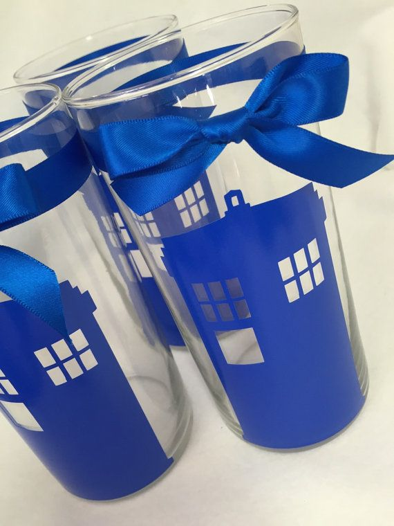 Doctor Who Wedding Vase Centerpiece Geek Nerd by ShaesBridal