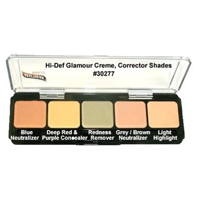 Graftobian Hi-Def Cream Corrector Palette www.love-make.co.uk