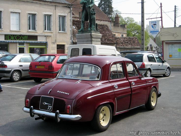 bordeaux ard Renault Dauphine Gordini 2