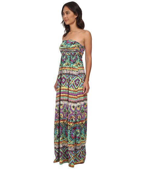 Габриэлла Роша гладкий Халли платье черный Цветочный - Zappos.com Бесплатная доставка в обоих направлениях