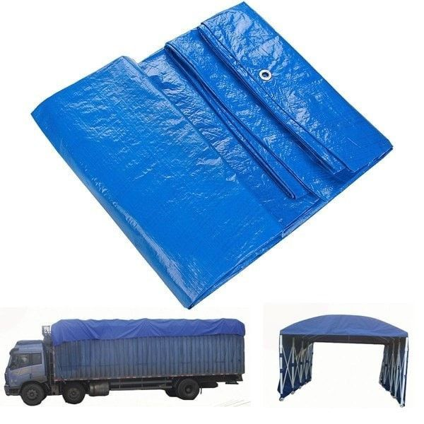 Waterproof Cover Tarpaulin Ground Sheet Camping Lightweight Tarp For Car Outdoor