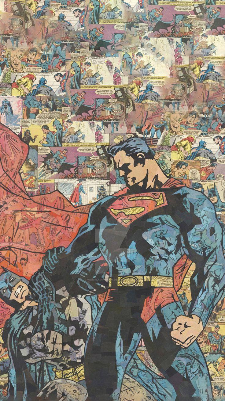 Checkout This Wallpaper For Your IPhone Zedge W10678501 Superman VBatman ComicsWallpaper