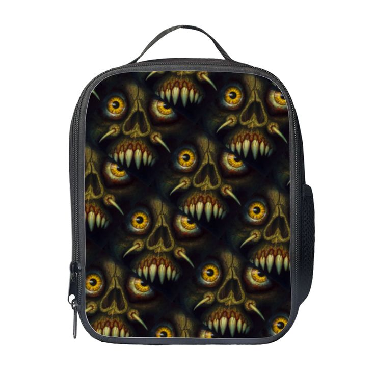 Your Inner #Demon Appears Out Of The #Darkness! A very #mystic #backpack for a person with a very #mystic #soul!