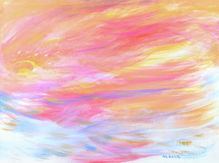 Abstract Painting Painting - Beautiful Possibilities - Contemporary Art by Robyn King