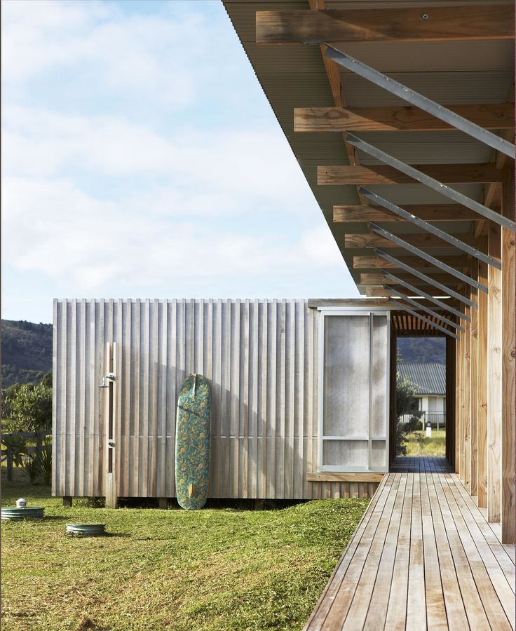 Dwell - Off-the-Grid Island House in New Zealand Connects with the Outdoors