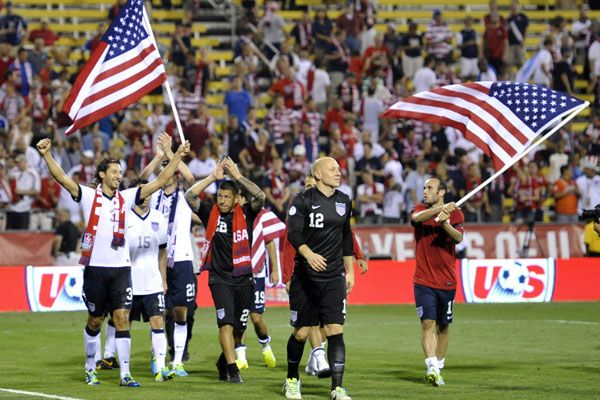 USA-goal-celebration-flags-world-cup-2014-brazil-group-G-Germany-ghana-and-PortugalUSA vs. Ghana: Best Places Watch 2014 World Cup