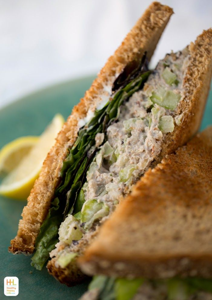 Vegan Tuna Salad with Walnuts and Chickpeas