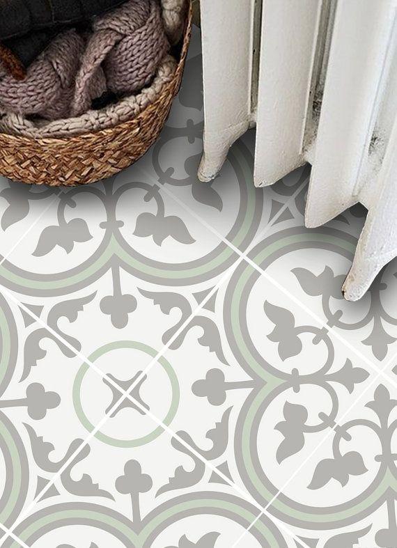 Vinyl Boden Fliesen Aufkleber Boden Aufkleber Von Quadrostyle