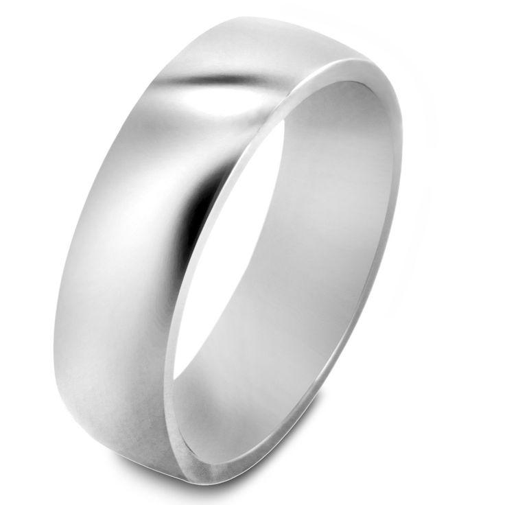 <li>Polished ring</li><li>Titanium jewelry</li><li><a href='http://www.overstock.com/downloads/pdf/2010_RingSizing.pdf'><span class='links'>Click here for ring sizing guide</span></a></li>