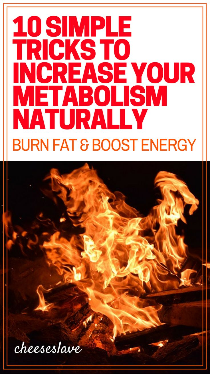 Increase Your Metabolism Naturally: 10 Simple Tricks