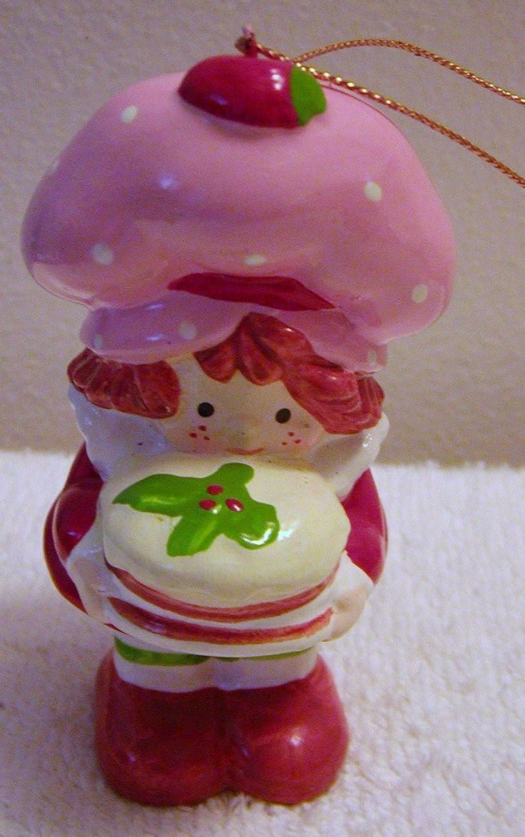 Vintagestrawberry · Strawberry Shortcakechristmas  Ornamentschristmas