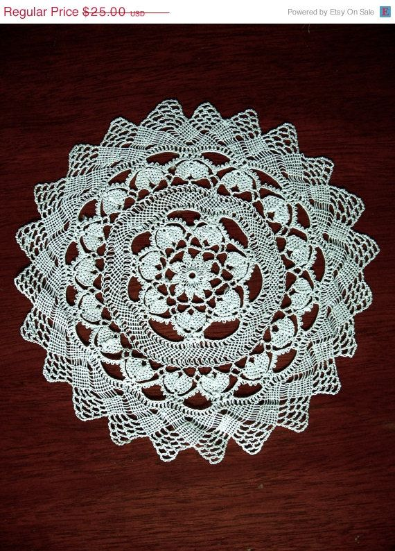 Armenian Lace Doily Vintage Handmade Knotted by TheWindmiller, $22.50 etsy.com