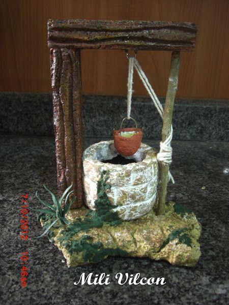 Navidad 2012. Pozo de agua para el Belén, nacimiento o pesebre