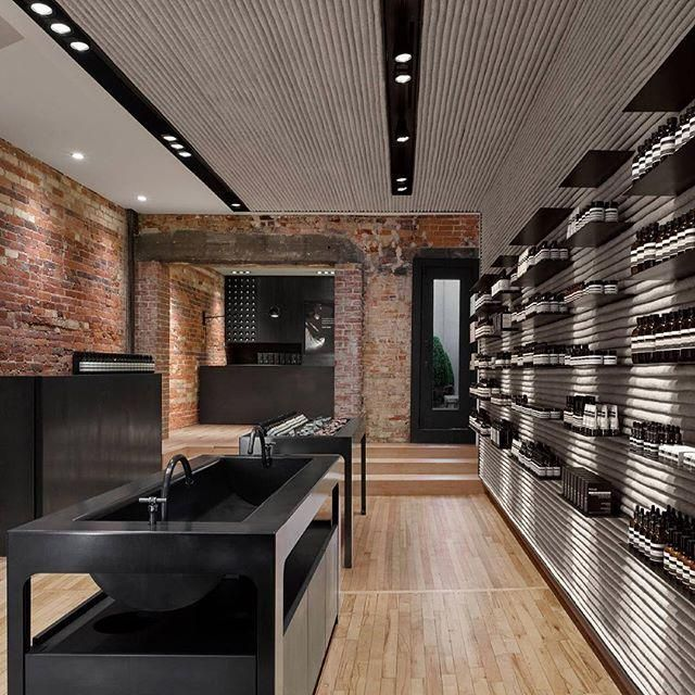 "AESOP,Queen Street West, Toronto,Canada, ""Opening the doors to its first Canadian Store"", pinned by Ton van der Veer"