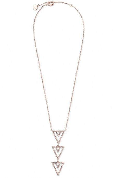 Peyton List loves the Stella & Dot Pavé Spear Pendant Necklace - the perfect accessory to dress up any festival outfit! http://tvgd.co/1P0kZMF #Coachella
