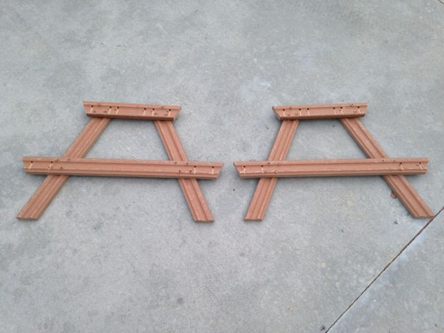 DIY Composite Toddler Picnic Table PlansDIY Composite Toddler Picnic Table Plans
