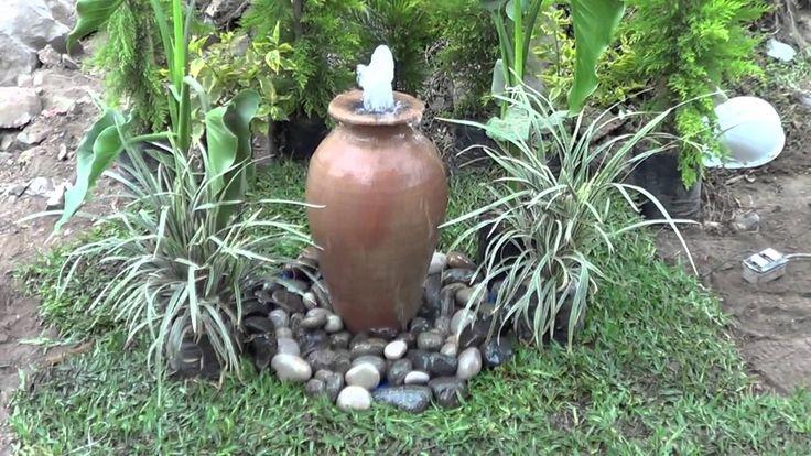 fuentes de agua moderna