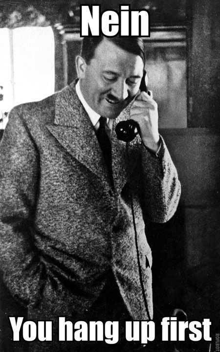Oh, Adolf… funny , but not funny