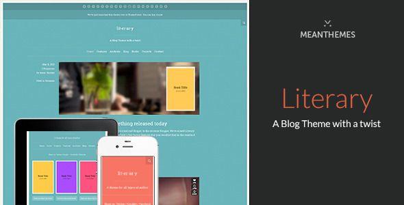 Literary: A WordPress Blog Theme With A Twist