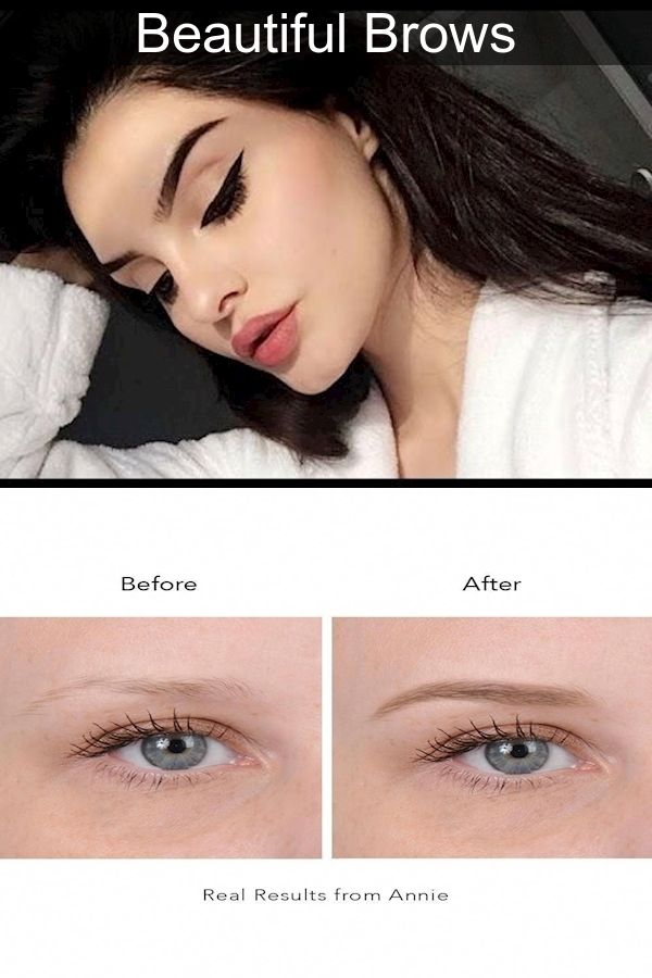 Correct Eyebrow Shape   Eyebrow Tips   How To Properly Do ...