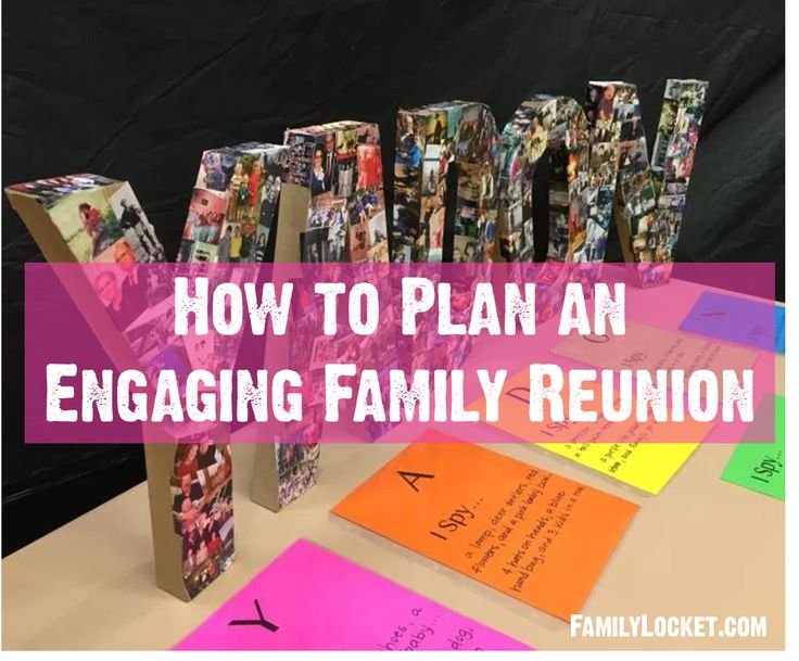 Great family history games and ideas for family reunions!!