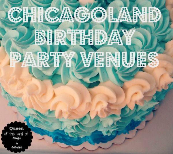 Chicagoland Birthday Party Venues - www.queenofthelandoftwigsnberries.com