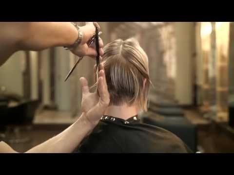 Супер стрижка на короткие волосы - YouTube