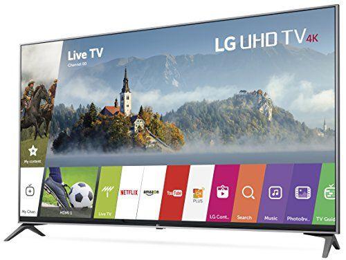 LG Electronics 55UJ7700 55-Inch 4K Ultra HD Smart LED TV (2017 Model) - Big Sale Online Shopping USA