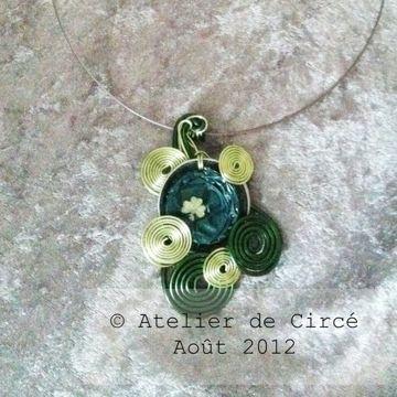 Atelier de Circé - Loisirs [ré]-créatifs Nespresso™ collier necklace €12 / $15
