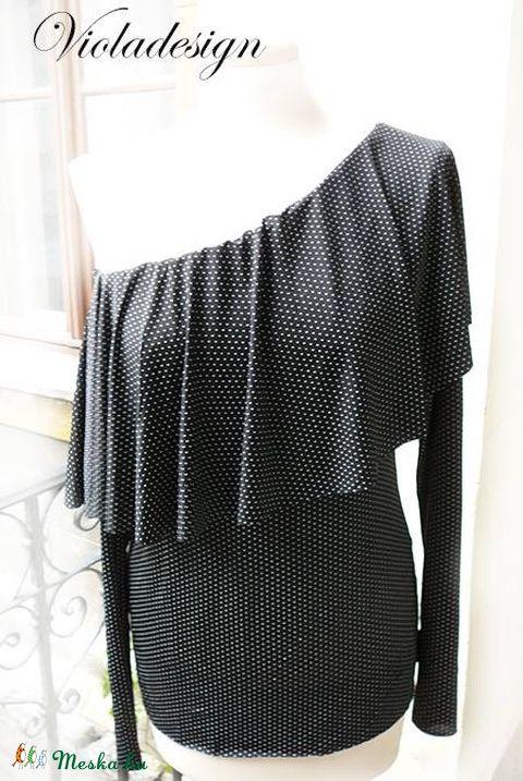 Párizsi elegancia - női felső, Ruha, divat, cipő, Női ruha, Felsőrész, póló…