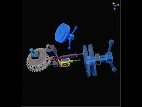 Механизм переключения передач 2 b