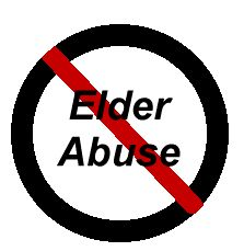 """Stop elder abuse  """"    Elder abuse is doing something or failing to do something that results in harm to an elderly person or puts a helpless older person at risk of harm. This includes        Physical, sexual and emotional abuse      Neglecting or deserting an older person you are responsible for      Taking or misusing an elderly person's money or property    Elder abuse can happen within the family. It can also happen in settings such as hospitals or nursing homes or in the community."""""""