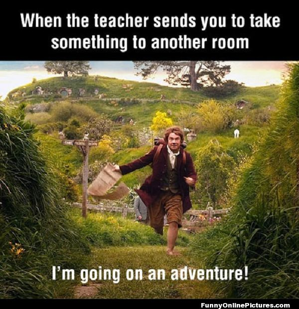Going On An Adventure.. #HighSchool #humor Visit www.LovableQuotes.com to see more sweet love quotes & sayings! <3