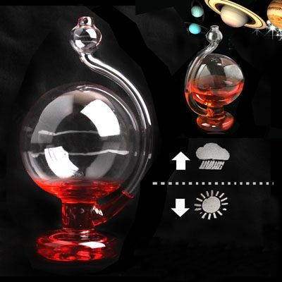DIY Weather Predictable Forecast Liquid Glass Barometer
