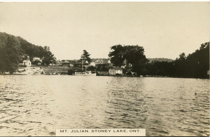Vintage RPPC of Mt. Julian - Stoney Lake, Ontario