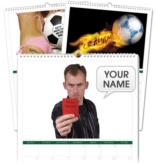 I Just Love It Name-in-Image Personalised Football Calendar Personalised Football Calendar - Gift Details. Score a goal with our fabulous footie calendar. Footie fans rejoice! Turn the pages and see your Name spelt out on the back of a shirt stamped onto a fo http://www.MightGet.com/january-2017-11/i-just-love-it-name-in-image-personalised-football-calendar.asp