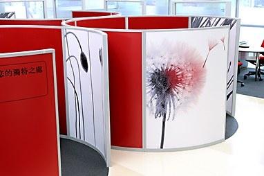 HSBC Bank flagship branch environmental graphics
