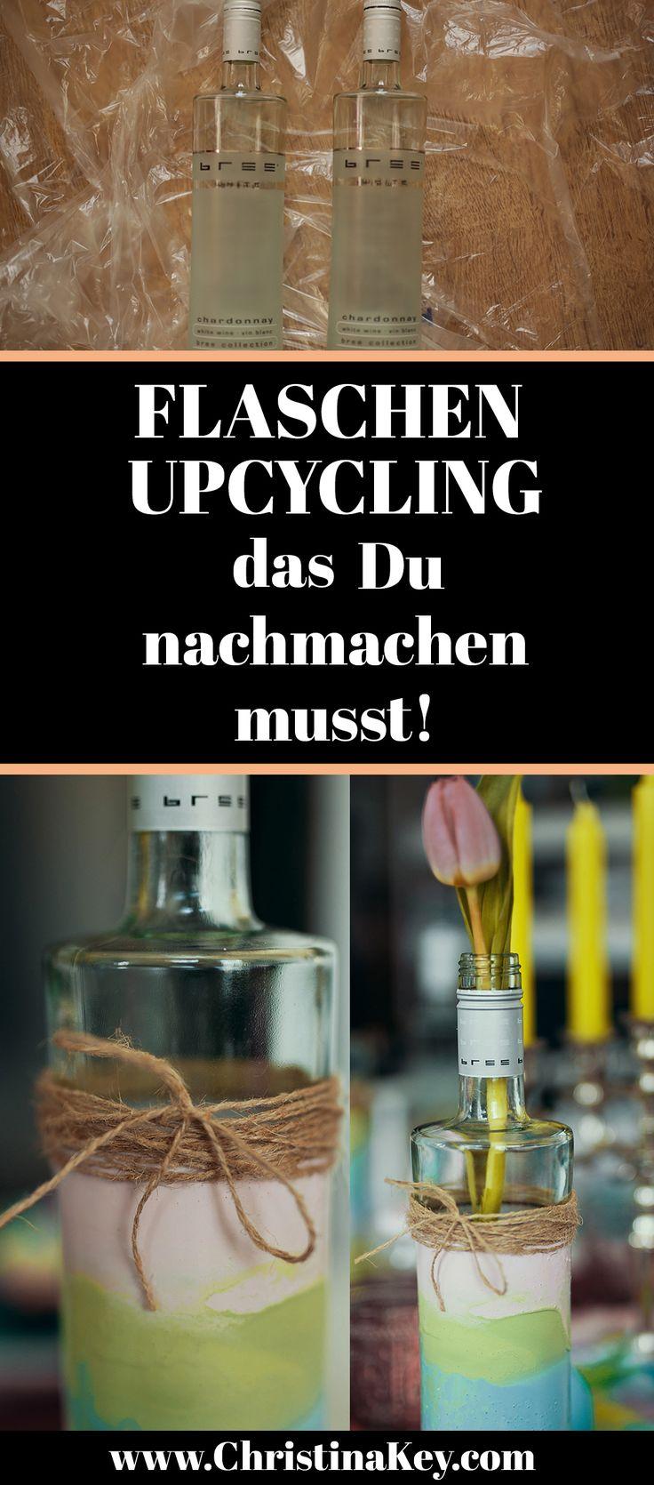 DIY Idee: Kreatives Flaschen Upcycling, das Du einfach nachmachen musst! // Jetzt weitere DIYs und Tipps zur Fotografie und dem Thema Blog und Bloggen auf CHRISTINA KEY nachlesen - dem Fotografie-, Mode-, Food und Lifestyle Blog aus Berlin